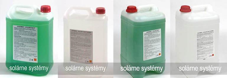 Kvapaliny do solárneho systému